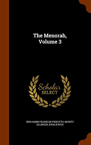 9781345541113: The Menorah, Volume 3