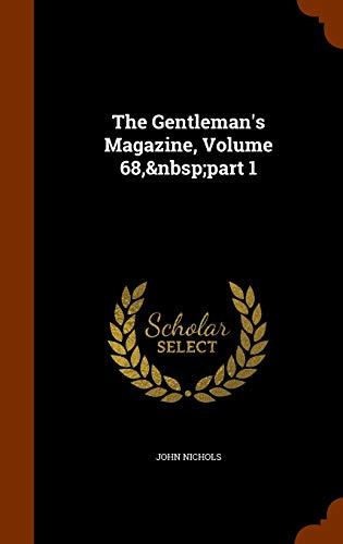9781345588835: The Gentleman's Magazine, Volume 68, part 1