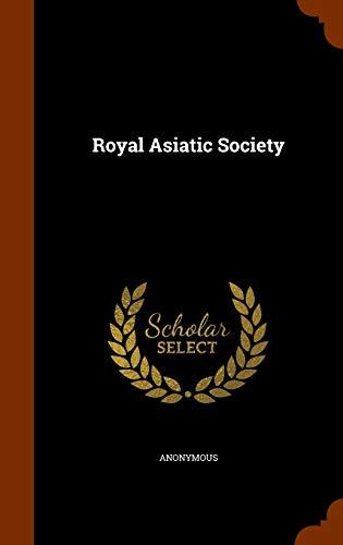 9781345994353: Royal Asiatic Society