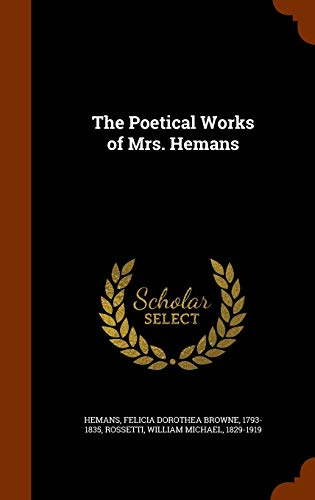 9781346011141: The Poetical Works of Mrs. Hemans