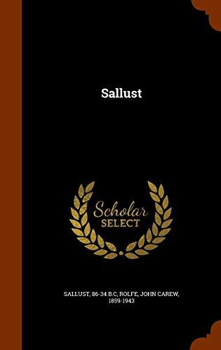 9781346183145: Sallust