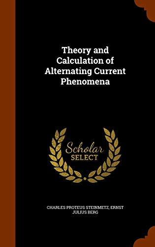 9781346242439: Theory and Calculation of Alternating Current Phenomena