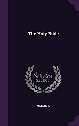 9781346424330: The Holy Bible