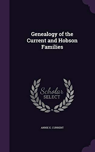 9781346805993: Genealogy of the Current and Hobson Families