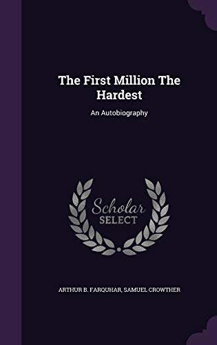 9781346964058: The First Million The Hardest: An Autobiography