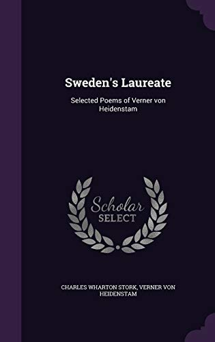 9781347483190: Sweden's Laureate: Selected Poems of Verner von Heidenstam