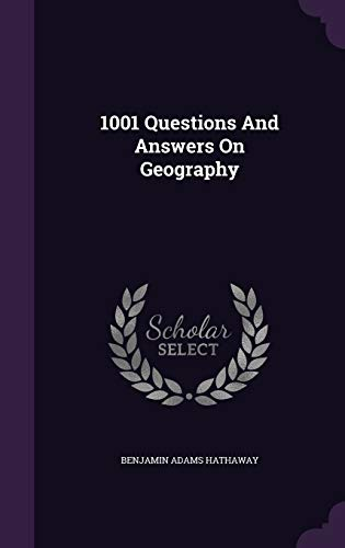 9781347945285: 1001 Questions And Answers On Geography