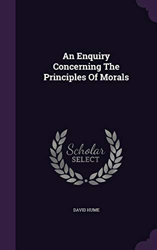 9781348030652: An Enquiry Concerning The Principles Of Morals