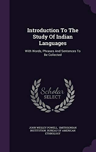 9781348113874: Introduction To The Study Of Indian Languages: With Words, Phrases And Sentences To Be Collected
