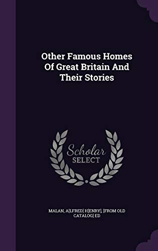 9781348154310: Other Famous Homes Of Great Britain And Their Stories