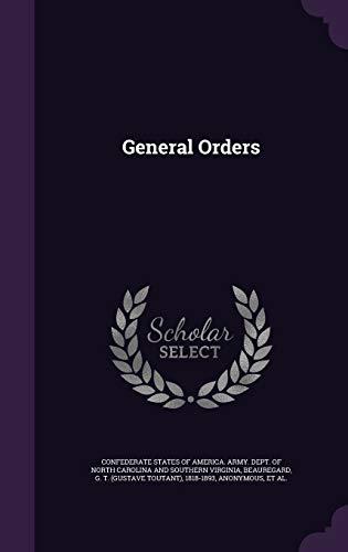 General Orders (Hardback)
