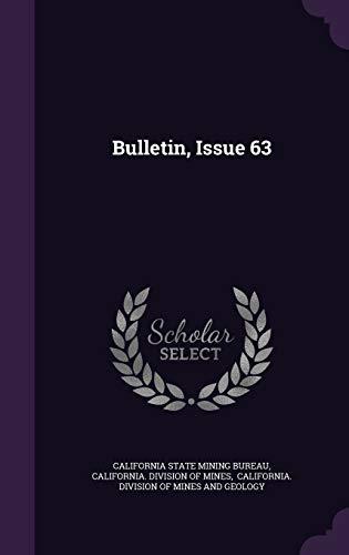 9781348274315: Bulletin, Issue 63