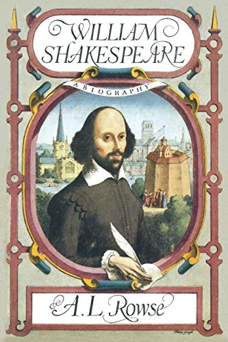 9781349003174: William Shakespeare: A Biography