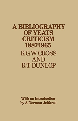 9781349003433: A Bibliography of Yeats Criticism 1887-1965