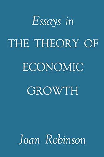 9781349006281: Essays in the Theory of Economic Growth
