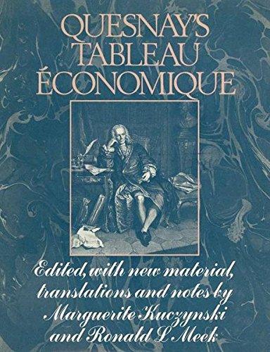 9781349009046: Quesnay's Tableau Économique