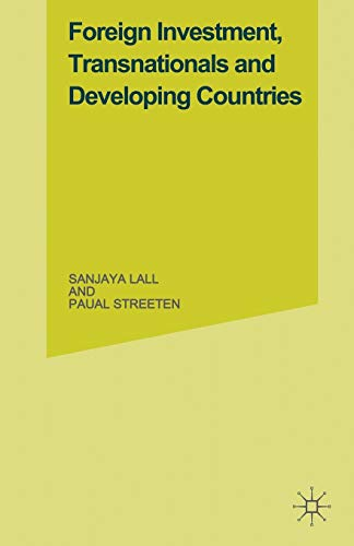9781349022922: Foreign Investment, Transnationals and Developing Countries