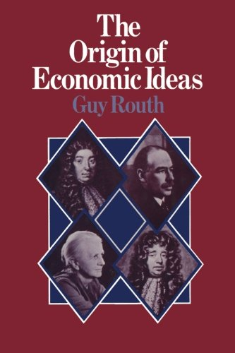 9781349023394: The Origin of Economic Ideas