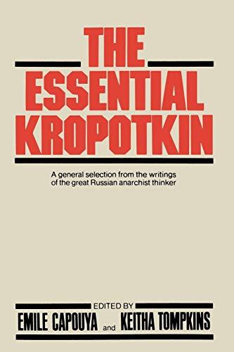 9781349029617: The Essential Kropotkin
