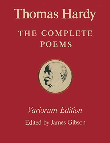 9781349038060: The Variorum Edition of the Complete Poems of Thomas Hardy