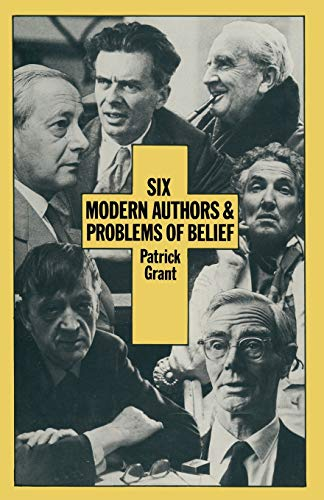 9781349046171: Six Modern Authors and Problems of Belief
