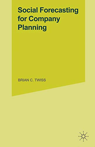 9781349048137: Social Forecasting for Company Planning