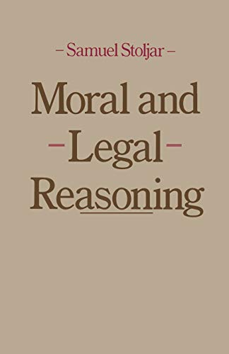 9781349050970: Moral and Legal Reasoning