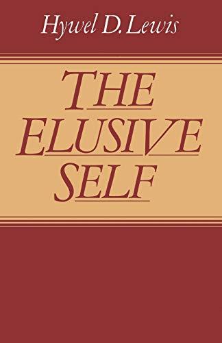 9781349055180: The Elusive Self
