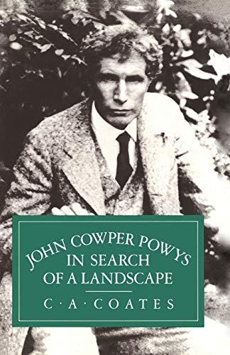 9781349062171: John Cowper Powys in Search of a Landscape