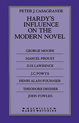 9781349062355: Hardy's Influence on the Modern Novel (Macmillan Hardy Studies)