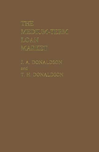 9781349062447: The Medium-Term Loan Market