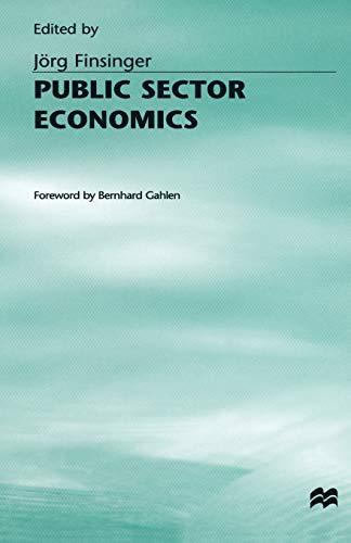 9781349065066: Public Sector Economics