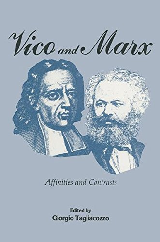 9781349069224: Vico and Marx: Affinities and Contrasts