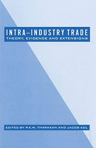 Intra-Industry Trade 1989: P. K. M.