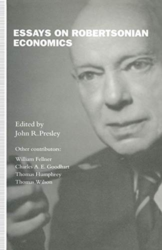 9781349125692: Essays on Robertsonian Economics
