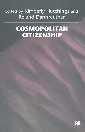 9781349146253: Cosmopolitan Citizenship