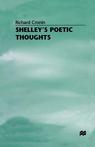 9781349164738: Shelley's Poetic Thoughts