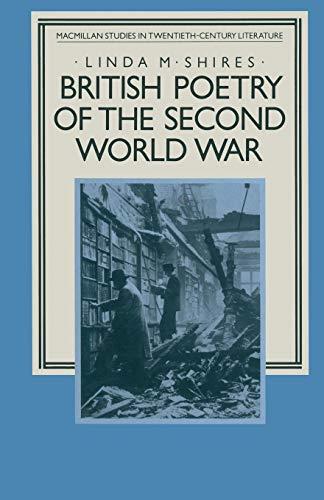 9781349178667: British Poetry of the Second World War (Studies in 20th Century Literature)