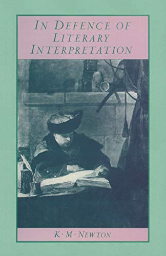 9781349184491: In Defence of Literary Interpretation: Theory and Practice