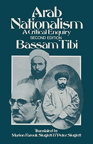 9781349208043: Arab Nationalism: A Critical Enquiry