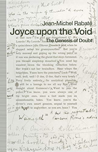 9781349214303: Joyce upon the Void: The Genesis of Doubt