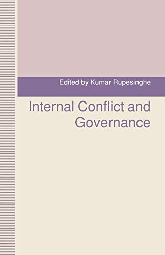 9781349222483: Internal Conflict and Governance