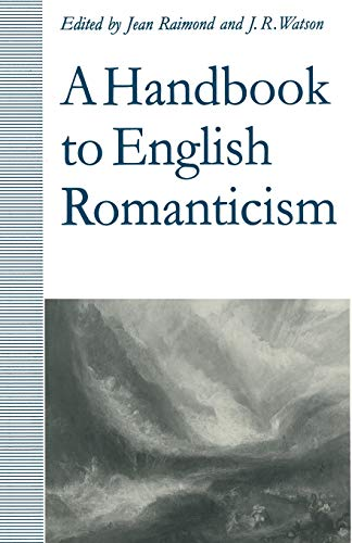 9781349222902: A Handbook to English Romanticism