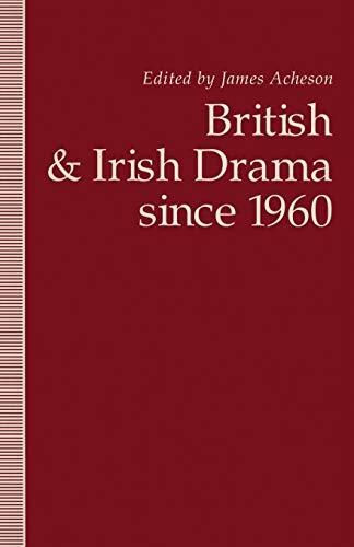 9781349227648: British and Irish Drama since 1960