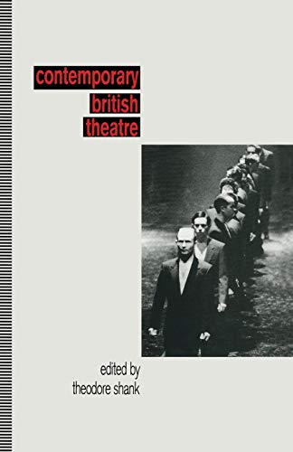 9781349230808: Contemporary British Theatre