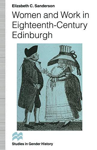 9781349246465: Women and Work in Eighteenth-century Edinburgh