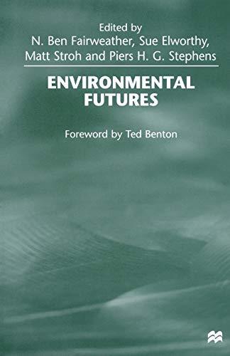 9781349272679: Environmental Futures