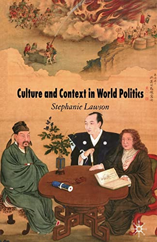 9781349283316: Culture and Context in World Politics