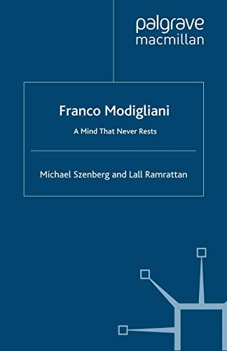 9781349283507: Franco Modigliani: A Mind That Never Rests (Great Thinkers in Economics)