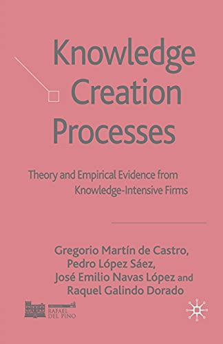 Knowledge Creation Processes: Theory and Empirical Evidence: Gregorio Martín de